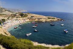 The small beach (RodaLarga) Tags: france nikon calanques tiltshift zenitargroup d7000