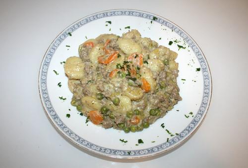 29 - Gnocchi-Gemüse-Schlemmerpfanne / Gnocchi veg stir fry - Fertiges-Gericht