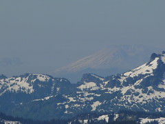Mt. St Helens from Crystal Peak summit.