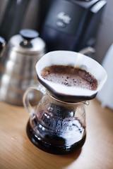 The substitute (nicoalaryjr) Tags: test coffee brewing canon studio 50mm lab experiment melbourne bean technic 5d method v60 aeropress singleorigin hario