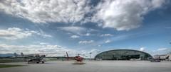 draußen (Alex on holiday) Tags: city salzburg sport nikon stadt redbull hdr flugzeuge hangar7 rennwagen d80 nikond80 club16