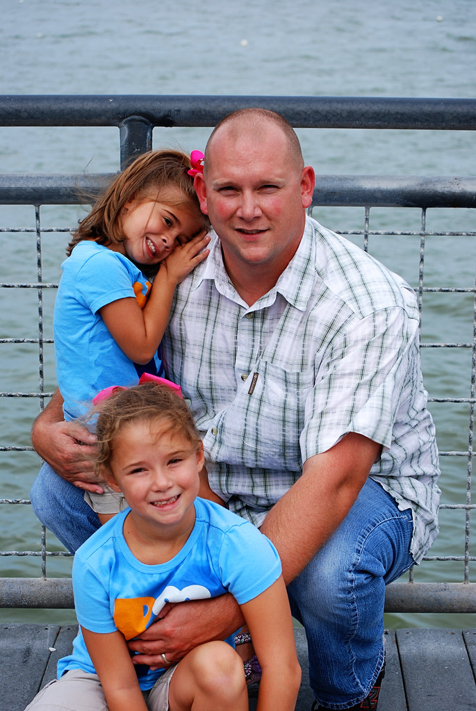 dad and girls