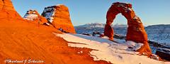 del_arch (Harland Schuster, Photographer) Tags: winter utah ut archesnationalpark archesks