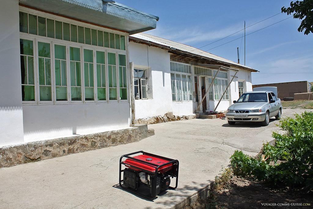 Maison de village en Ouzbékistan