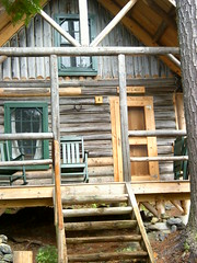 One of the original cabins (ems18) Tags: summer maine august kayaking amc paddling longpond appalachianmountainclub 100milewilderness piscataquiscounty gorhamchairbackcamps