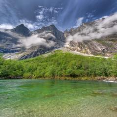Trollveggen -  The Troll Wall (Mariusz Petelicki) Tags: norway norge hdr trollveggen norwegia vertorama thetrollwall ścianatrolli
