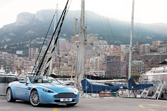 Shmeemobile. (Alex Penfold) Tags: auto camera blue light france cars alex sports car sport mobile canon french photography eos photo cool flickr riviera martin image harbour awesome flash picture super spot monaco 150 exotic photograph spotted hyper carlo cote monte supercar v8 aston spotting tb 87 numberplate exotica sportscar vantage sportscars supercars penfold dazur shmee spotter 2011 youtube hypercar 60d hypercars v8v alexpenfold shmee150 87tb