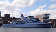 Megayacht PACIFIC (IMO  9569293) (arnekiel) Tags: pacific yacht kiel imo megayacht lurssen lrssen sartorikai 9569293