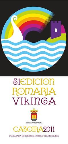 Catoira 2011 - Romaría Vikinga - cartel