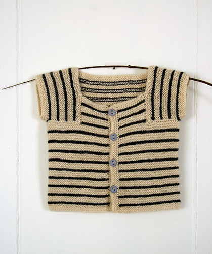 Whit's Knits: Little Baby Sweater by the purl bee