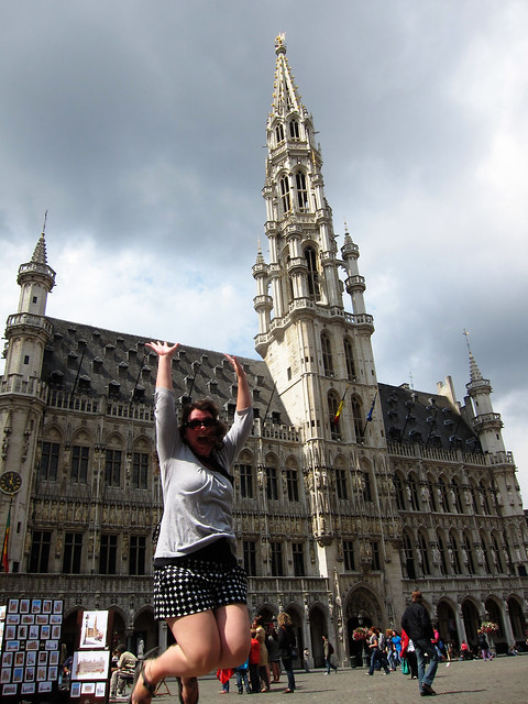 Jumping in Brussels