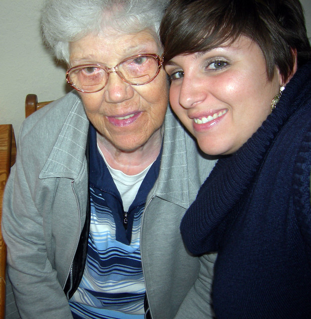 Me and Gram October 2011