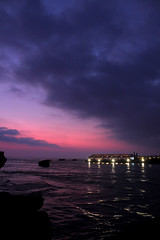 Sunset at Jbeil 6 (Ahmad Abdulhamid) Tags: sunset sea sky lebanon clouds purple warmth ahmad jbeil abdulhamid worldphotographyday canon55mm canon550d ahmadabdulhamid