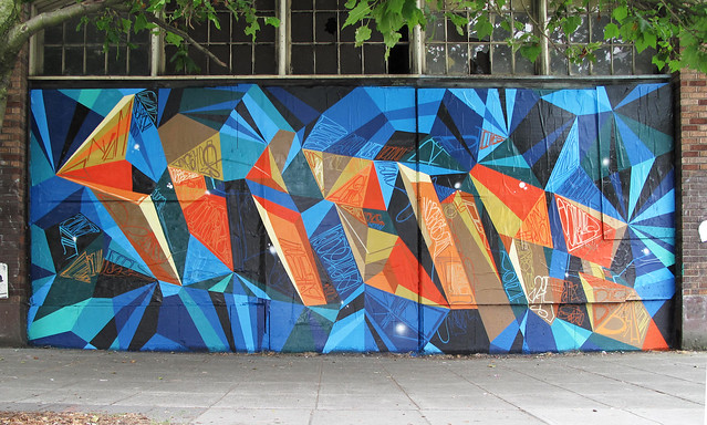 "JURNE X MWM : Seattle ""Science"" Collabo Mural."