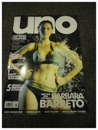 This month's Uno issue.