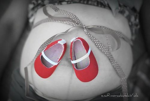 zapatos y lazo