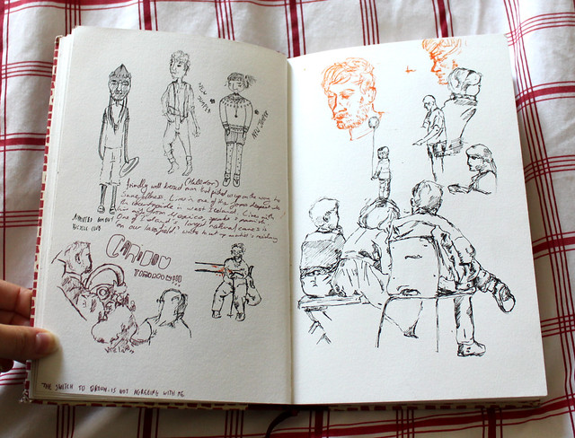 iceland sketchbook 3