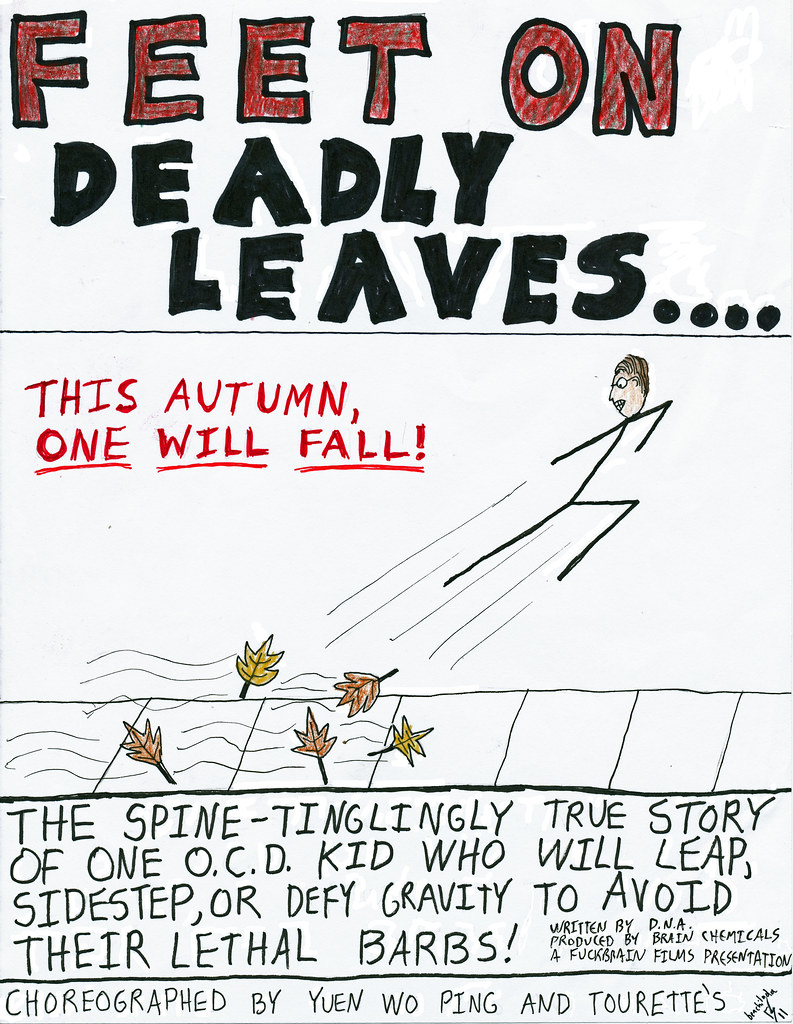 Fuckbrain Comix - Feet on Deadly Leaves