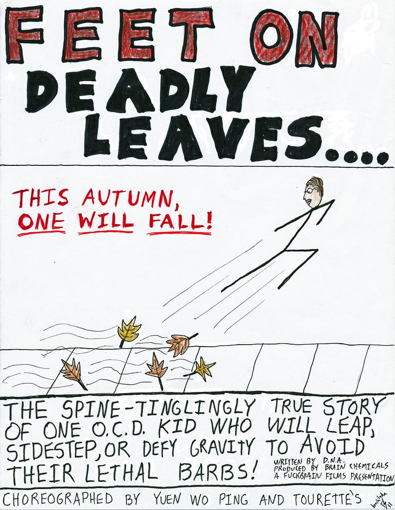 Fuckbrain Comix - Feet on Deadly Leaves