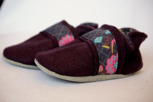 Felty shoes