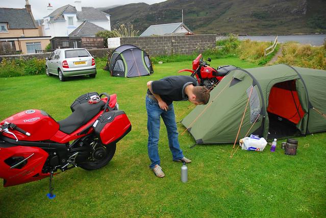 Ullapool campsite