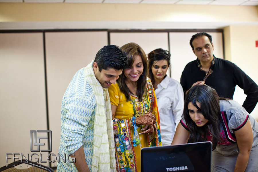 [Blog Photo] Live Streaming Shamz & Sana's Wedding to Pakistan