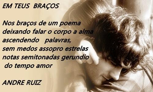 EM TEUS BRAÇOS by amigos do poeta