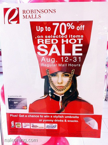 Robinsons Mall Red Hot Sale August 2011