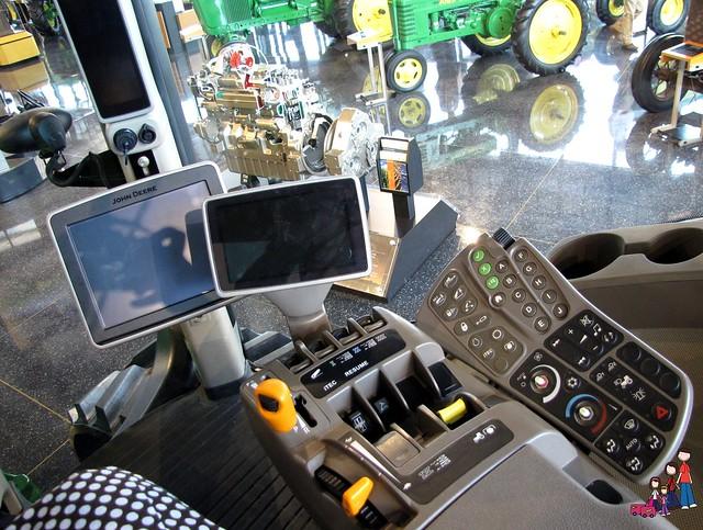 John Deere Tractor Control Panel