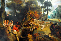 Eugene Delacroix - The Boar Hunt (after Rubens), 1839 at Neue Pinakothek Munich Germany (mbell1975) Tags: art museum germany painting munich münchen deutschland gallery museu musée musee m eugene after museo rubens boar muenchen muzeum hunt neue pinakothek delacroix the 1839 müze museumuseum