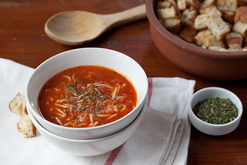 Tomato Soup with Vermicelli