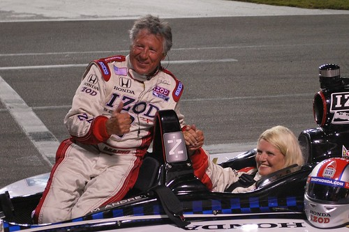 2-seater with Mario Andretti