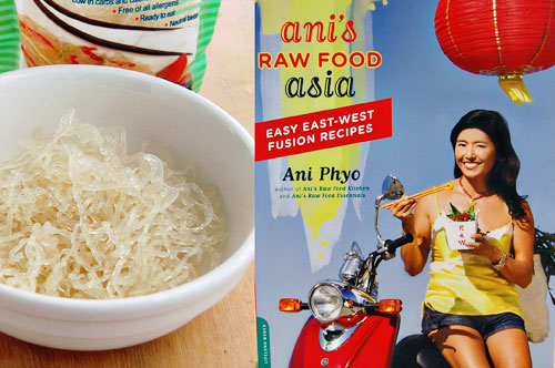 Vegetarian Pho From Ani's Raw Food Asia