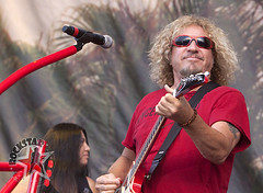 Sammy Hagar and the Wabos - Comerica Park - Detroit, MI - Aug 13th 2011