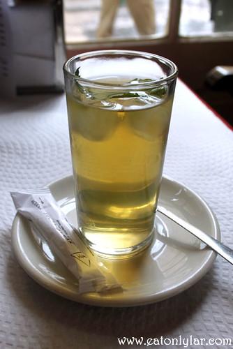 Chá gelado, Confeitaria Nacional