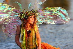 The most amazing Fairy in the World Twig! (gbrummett) Tags: arizona beautiful wonderful fun amazing pretty bokeh az fairy twig fairies tale gilbertaz twigthefairy freestonepark img9078