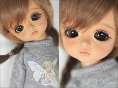 lil' sweet face  (Simmi.) Tags: moon yellow by cookie tan bloody custom limited mystic tanned morey latidoll andreja lati