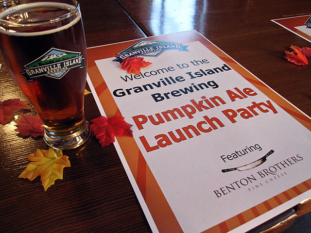 GIB Pumpkin Ale launch