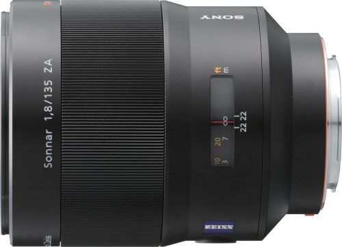 Sony 135mm f/1.8 Carl Zeiss Lens
