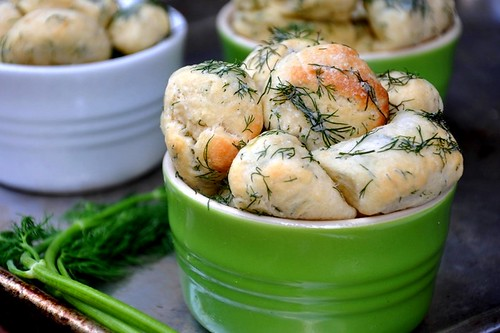 Savory Monkey Bread With Dill Butter