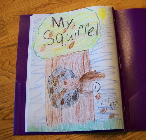 Julia's squirrel drawing