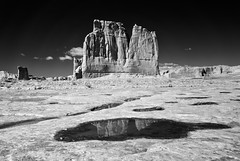 The Organ: Arches National Park, UT (Mike Blanchette) Tags: usa utah ut infrared moab archesnationalpark theorgan