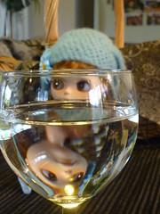 """Rudi is a """"Glass half full"""" kinda gal!!"""