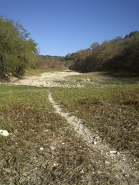 Barton Creek, October 2011