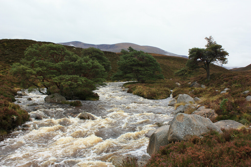 Braeriach and River Einich