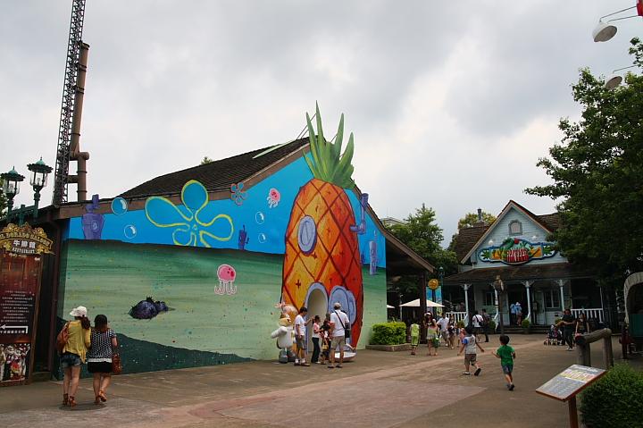 六福村主題遊樂園(美國大西部,海綿寶寶區)002