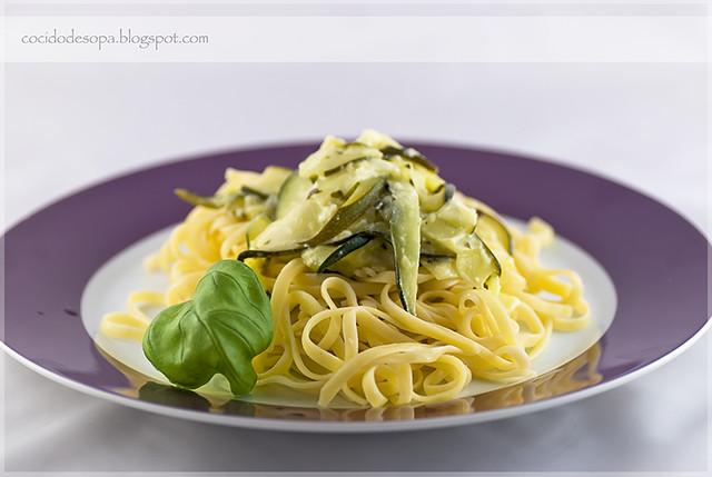 Pasta al limón con calabacín_2