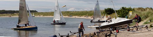 findhorn: bringing in the boats