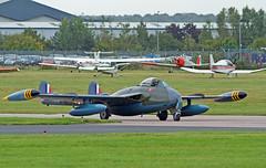IMG_8340 De Havilland Venom FB50 (DH-112)  WK436 , Coventry Fly-in, 26Sep10 (Lathers2) Tags: coventry warwickshire flyin venom baginton coventryairport canon7d wk436 26sep10 dehavillandvenomfb50dh112