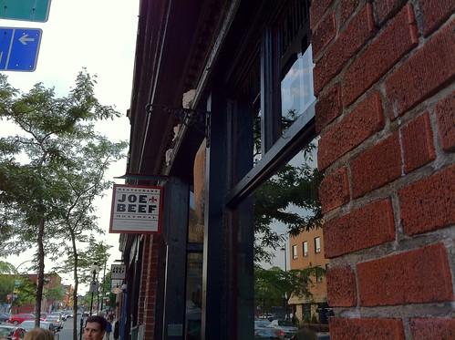 Joe Beef Restaurant, Montréal